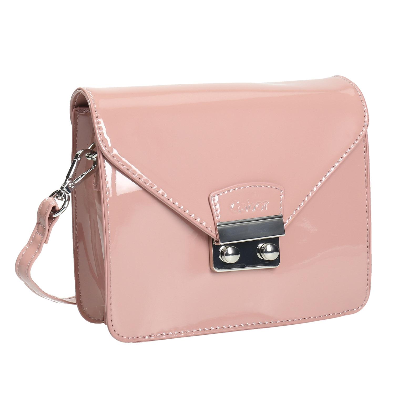 Różowa torebka typu crossbody - 9615070