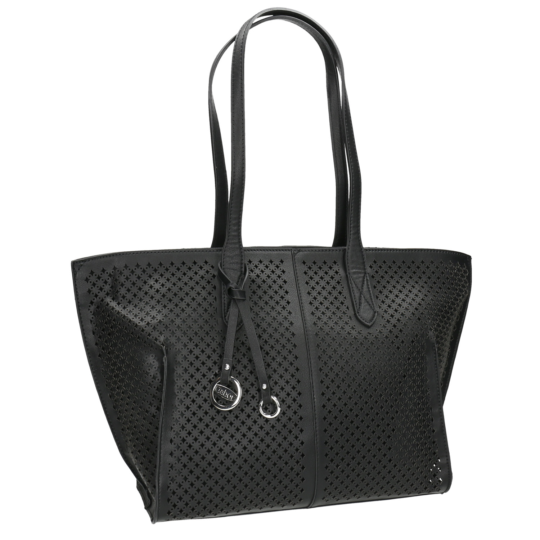 Perforowana torba typu shopper - 9616080