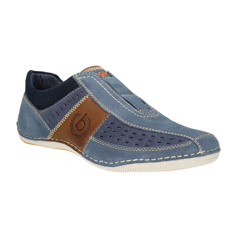 Kožené Slip-on boty