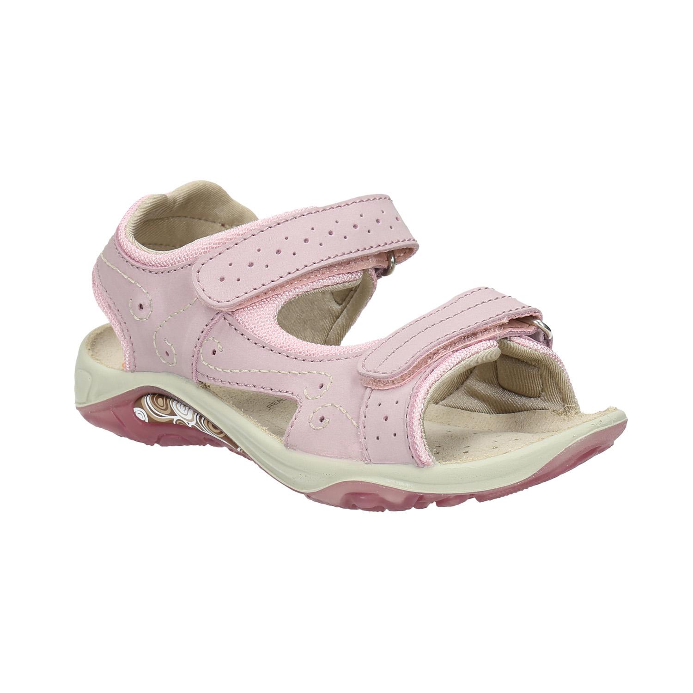 Różowe sandały dziewczęce - 3665607