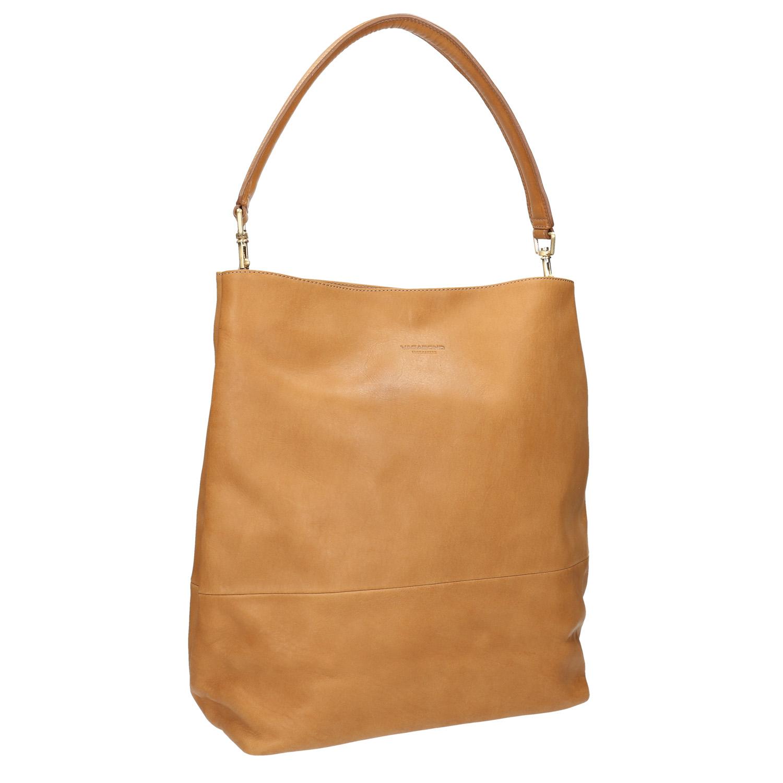 Skórzana torba zodpinanym paskiem - 9648051