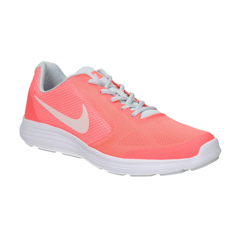 Dívčí růžové tenisky