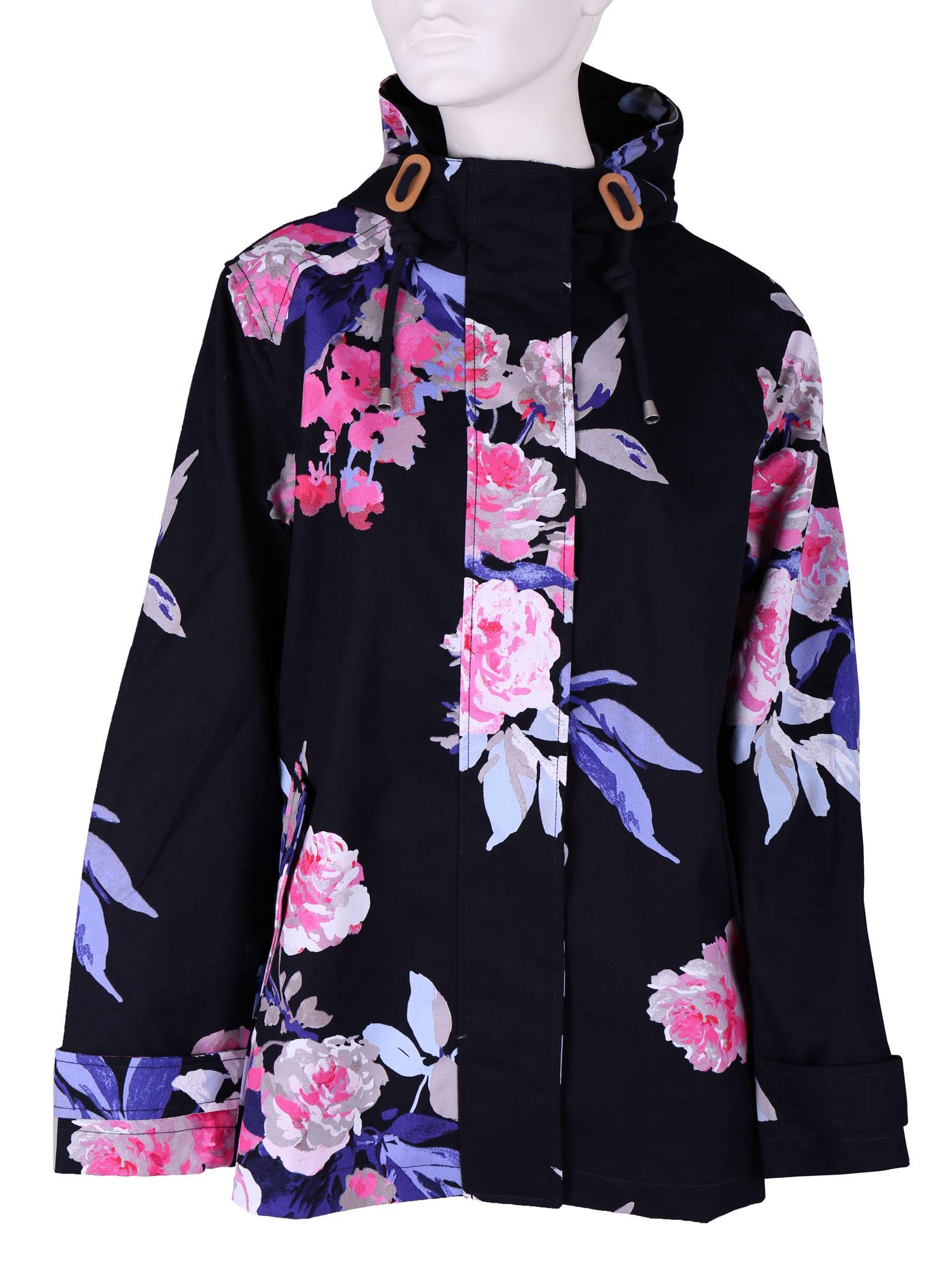 Dámská bunda s květinovým vzorem