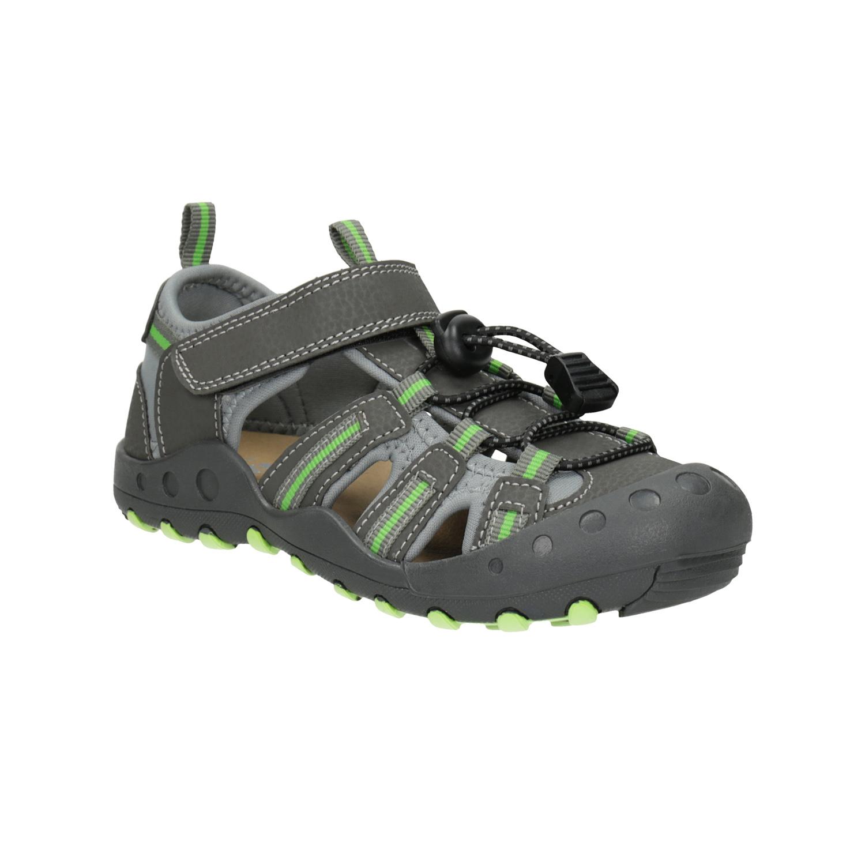 Dětské sandály s plnou špicí