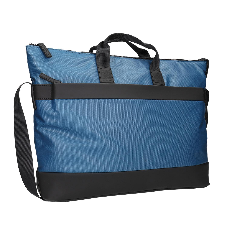 Modrá cestovní taška
