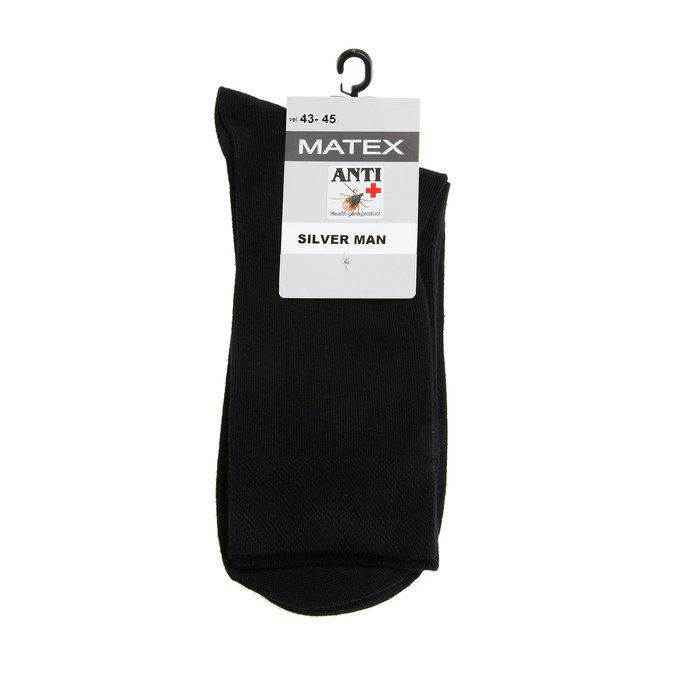 Pánské ponožky Matex s antibakteriální úpravou matex, černá, 919-6313 - 13