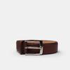 Hnědý pánský kožený opasek bata, hnědá, 954-3170 - 13