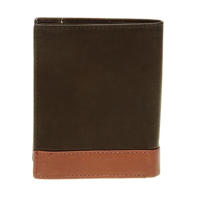 Pánská kožená peněženka bata, černá, 944-6150 - 26