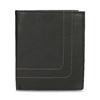 Kožená peněženka s prošitím bata, hnědá, 944-6148 - 26
