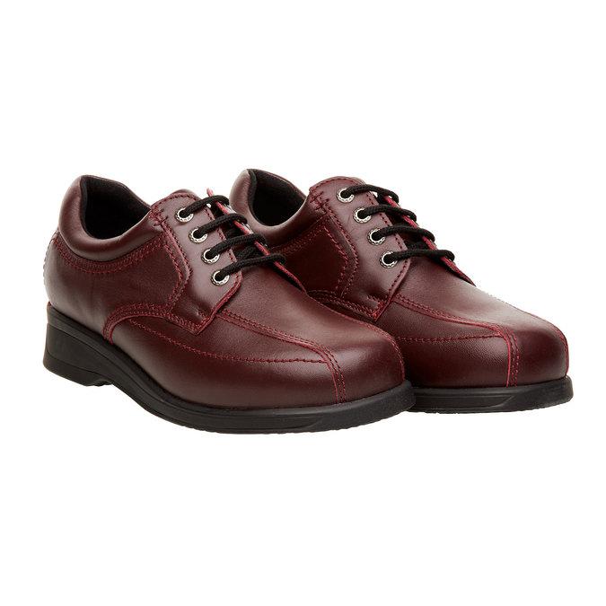 Dámská zdravotní obuv medi, červená, 544-5147 - 26