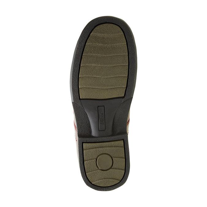 Pánská zdravotní obuv medi, červená, 834-5105 - 26