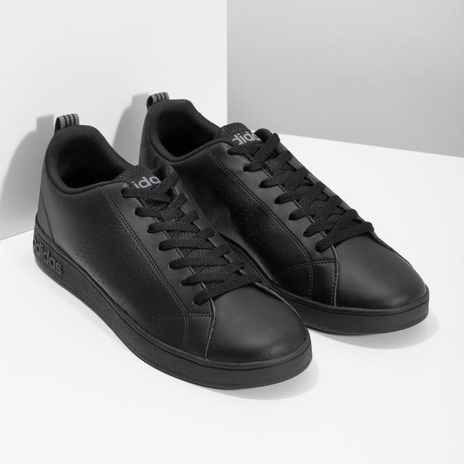Pánské černé tenisky adidas, černá, 801-6144 - 26