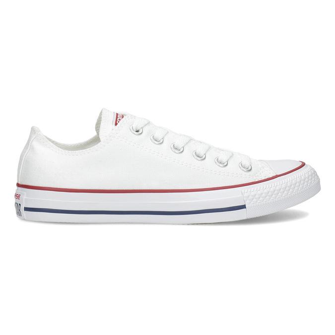 Dámské bílé tenisky s gumovou špičkou converse, bílá, 589-1279 - 19
