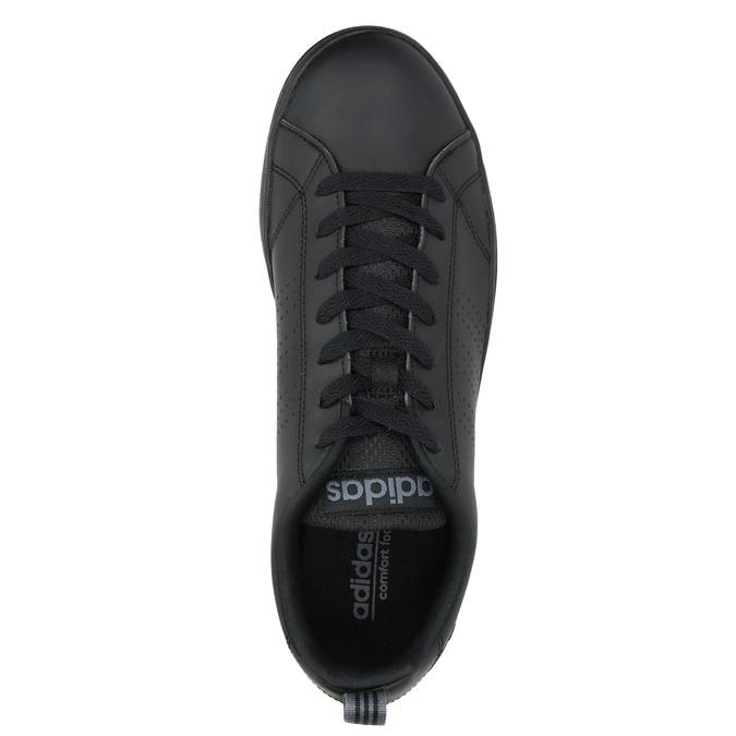 Pánské černé tenisky adidas, černá, 801-6144 - 19