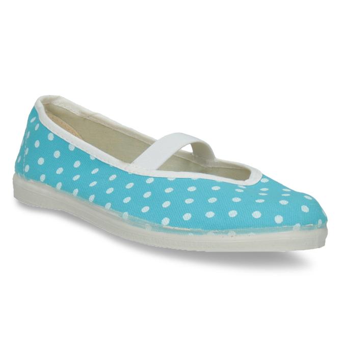 Modré cvičky s puntíky bata, modrá, 379-9103 - 13