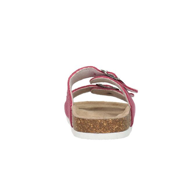 Dětské růžové pantofle de-fonseca, růžová, 373-5600 - 17