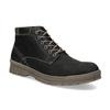 Pánská zimní kožená obuv weinbrenner, černá, 896-6107 - 13