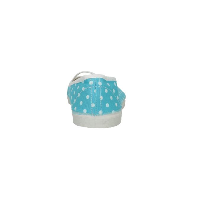 Modré cvičky s puntíky bata, modrá, 379-9103 - 17