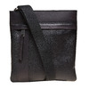 Kožená pánská Crossbody taška bata, černá, 964-6131 - 26