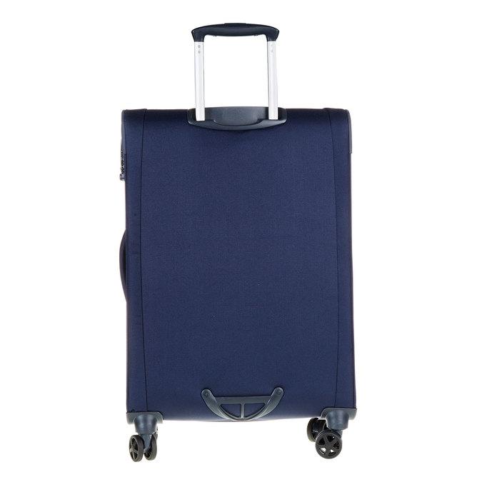 Textilní cestovní kufr na kolečkách samsonite, modrá, 969-9342 - 26