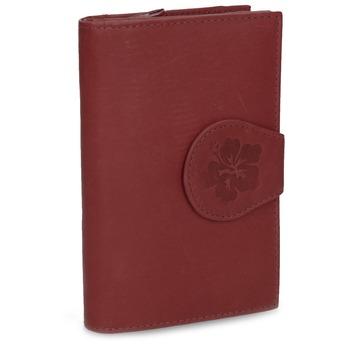 Dámská kožená peněženka bata, červená, 944-5155 - 13
