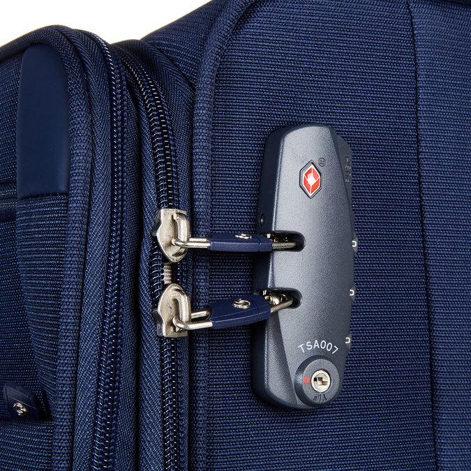 Cestovní kufr samsonite, modrá, 969-9341 - 17