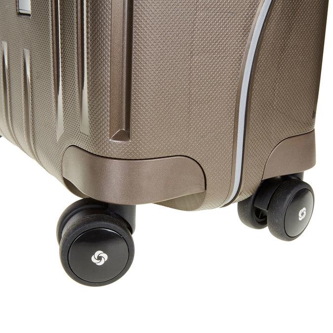 Kvalitní skořepinový kufr samsonite, hnědá, 960-4321 - 19