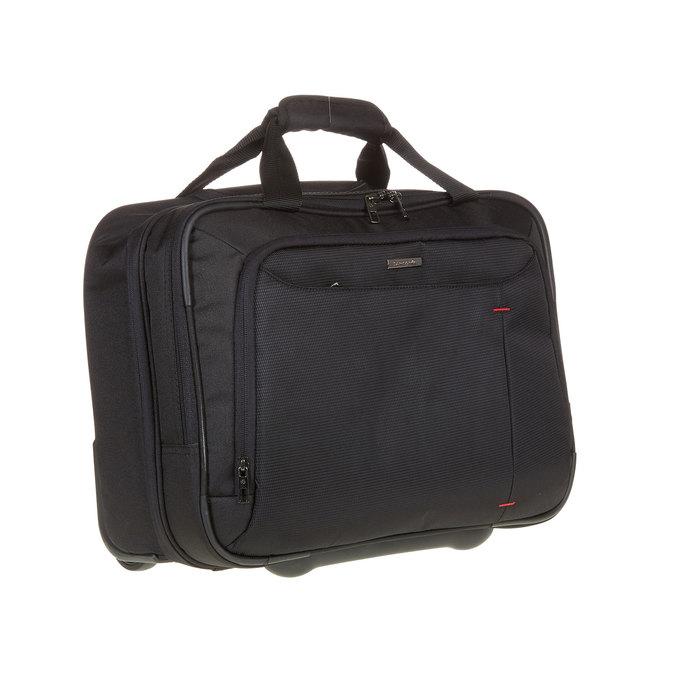 Cestovní brašna na notebook s kolečky samsonite, černá, 969-6396 - 13