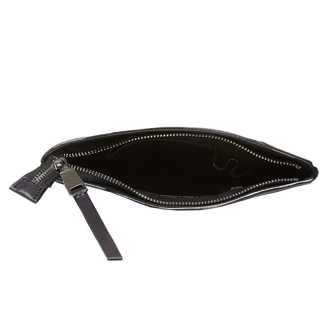 Kožená pánská Crossbody taška bata, černá, 964-6131 - 15