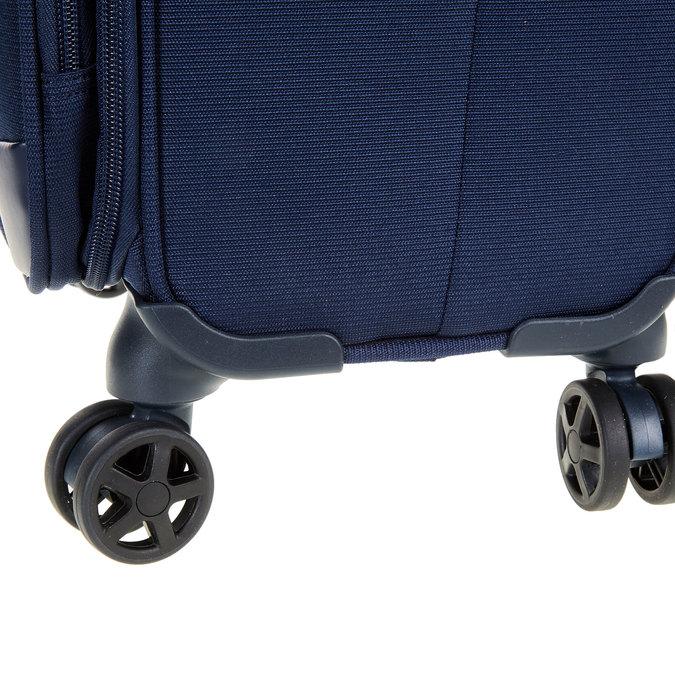 Textilní cestovní kufr na kolečkách samsonite, modrá, 969-9342 - 19