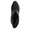 Dámská kotníčková obuv s přezkou bata, černá, 699-6630 - 26