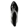 Kotníčková obuv v lakovaném provedení bata, černá, 691-6630 - 26