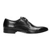 Kožené černé polobotky bata, černá, 826-6648 - 26