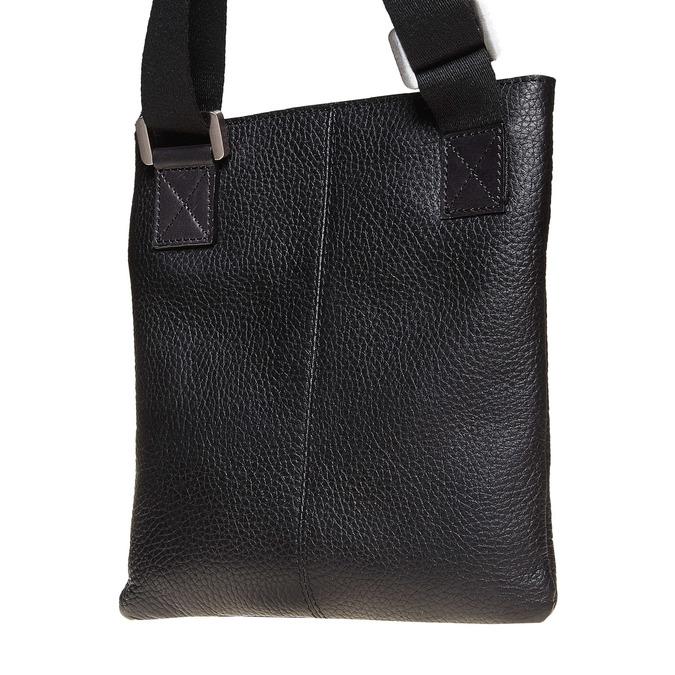 Kožená pánská Crossbody taška bata, černá, 964-6131 - 17
