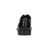 Černé kožené polobotky rockport, černá, 824-6106 - 17