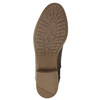Dámské kozačky na nízkém podpatku bata, hnědá, 691-4600 - 19