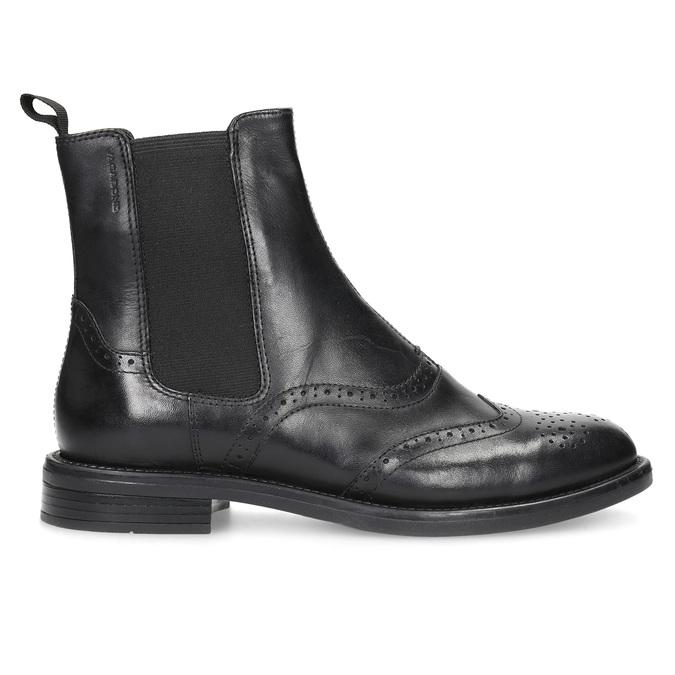 Kožené Chelsea Boots se zdobením vagabond, černá, 514-6002 - 19