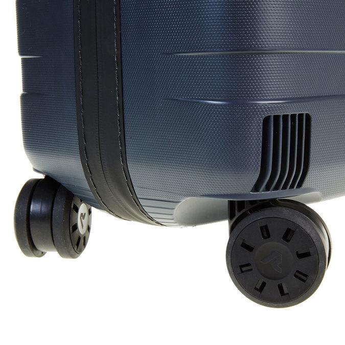Skořepinový kufr na kolečkách roncato, modrá, 960-2604 - 19