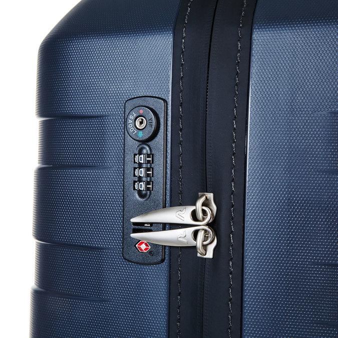 Skořepinový kufr na kolečkách roncato, modrá, 960-2603 - 17