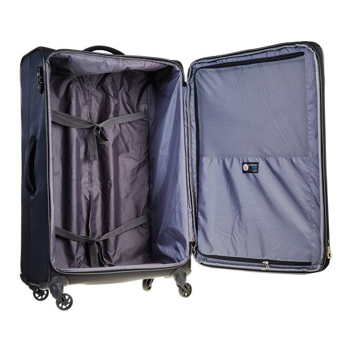 Cestovní kufr na kolečkách roncato, černá, 969-6636 - 15