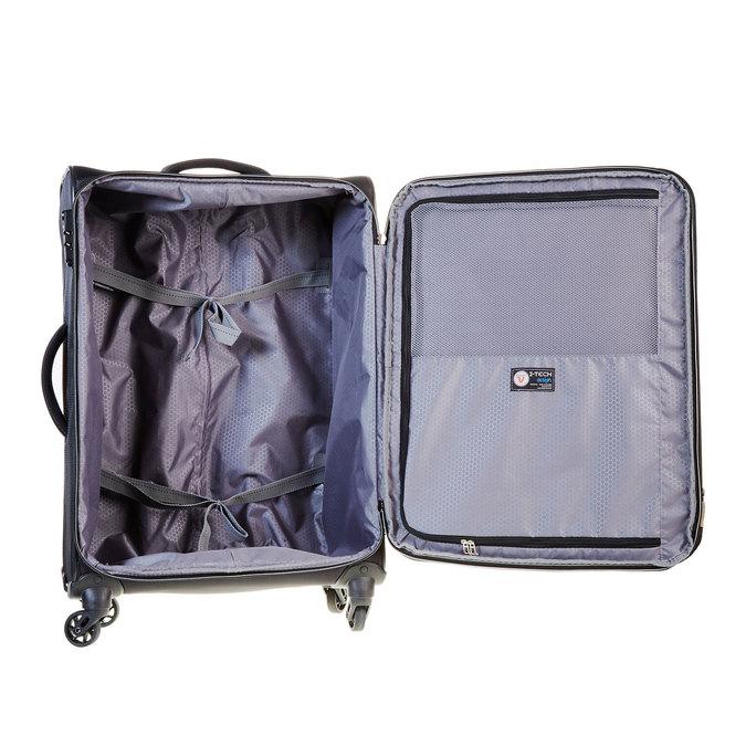 Cestovní kufr na kolečkách roncato, černá, 969-6637 - 15
