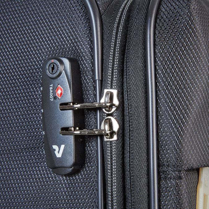 Cestovní kufr na kolečkách roncato, černá, 969-6636 - 17