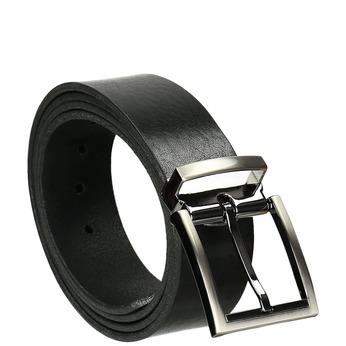 Kožený pánský opasek bata, černá, 954-6129 - 13