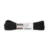 Tkaničky kulaté bavlněné 160 cm bata, černá, 901-6161 - 13