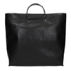 Dámská kabelka s kovovými uchy bata, černá, 961-6789 - 26
