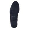Kožená kotníčková obuv se zateplením conhpol, černá, 894-6679 - 26