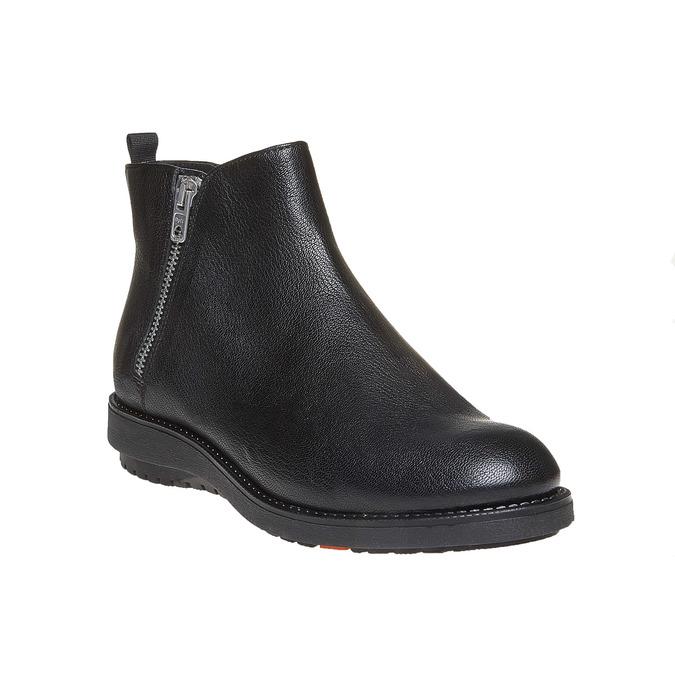 Kožená kotníčková obuv flexible, černá, 594-6227 - 13