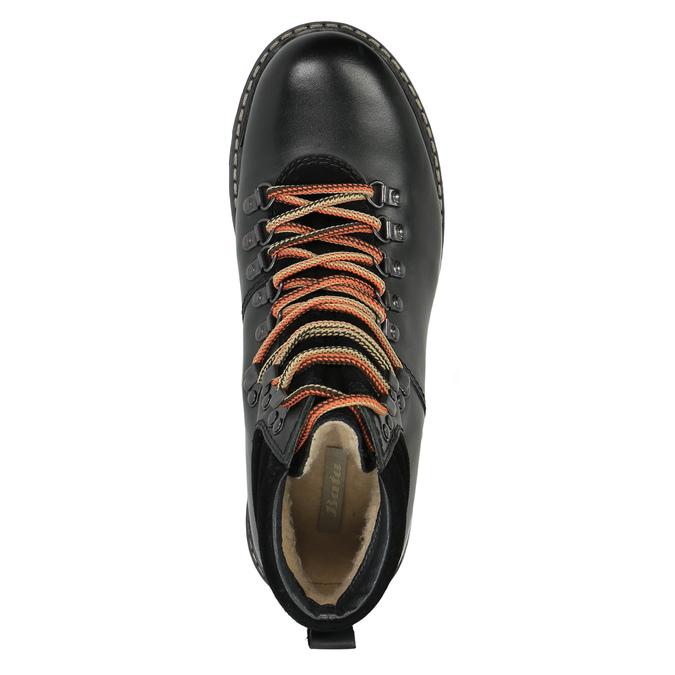 Pánská kožená zimní obuv bata, černá, 894-6180 - 19
