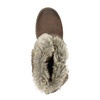 Dámská kotníčková obuv s kožíškem bata, hnědá, 591-4601 - 19