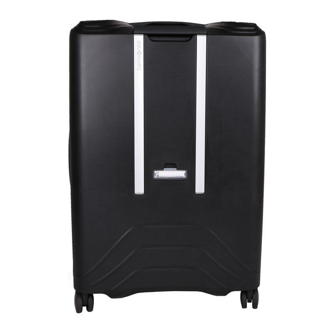 Černý cestovní kufr na kolečkách samsonite, černá, 960-6113 - 26